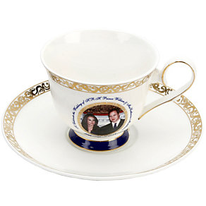 Exclusive Royal Wedding Cup & Saucer - Product number 8736243
