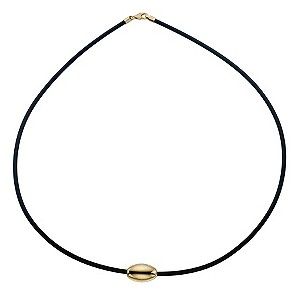 9ct Yellow Gold Bead Necklace