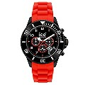 Ice-Watch Men's Black Dial & Red Silicone Strap Watch - Product number 8740100