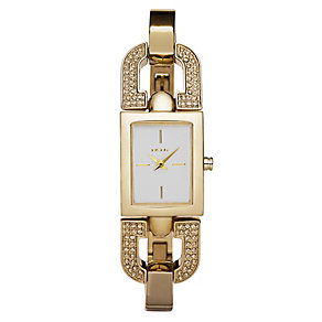 DKNY ladies' gold bangle watch - Product number 8741158