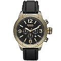 Fossil Men's Chronograph Black Strap Watch - Product number 8741182