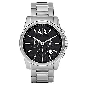 Men's Armani Exchange Stainless Steel Watch - Product number 8741530
