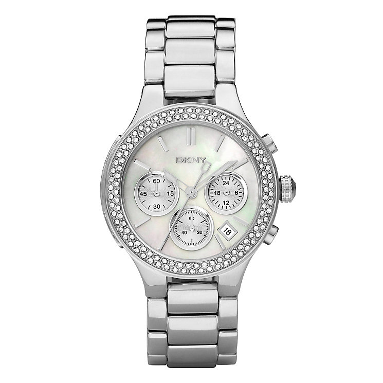 DKNY ladies' silver bracelet watch - Product number 8741778