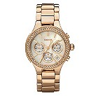 DKNY ladies' rose gold bracelet watch - Product number 8741867