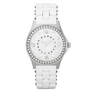 Marc Jacobs ladies' white bracelet watch - Product number 8742197