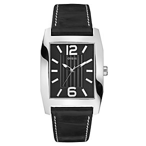 Guess Men's Black Strap Watch - Product number 8742731