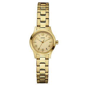 GUESS Micro Spectrum Ladies' Gold-Plated Watch - Product number 8742782