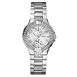 GUESS Ladies' Stone Set Bezel Watch - Product number 8742804
