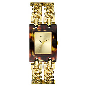 GUESS Ladies' Gold-Plated Watch - Product number 8742901