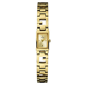 GUESS Ladies' Gold-Plated Micro G Watch - Product number 8742944