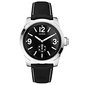 Guess Zoom Men's Black Strap Watch - Product number 8742960