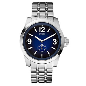 Guess Zoom Men's Stainless Steel Bracelet  Watch - Product number 8742987