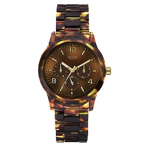 Guess Mini Spectrum Tortoise Shell Bracelet Watch