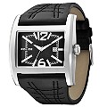 Men's Police Dynamo Black Leather Watch - Product number 8743207