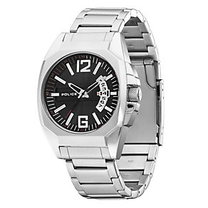 Men's Police Interstate Stainless Steel Bracelet Watch - Product number 8743290