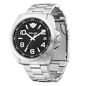 Men's Police Sovereign Stainless Steel Bracelet Watch - Product number 8743312