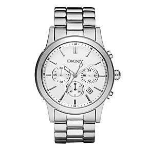 DKNY Men's Stainless Steel Bracelet Chronograph Watch - Product number 8745838