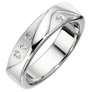 Hot Diamonds Sterling Silver Cascade Ring P