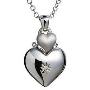 Hot Diamonds Sterling Silver Touch Pendant - Product number 8746613
