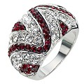 Red Clear Crystal Ring- Size P - Product number 8747725