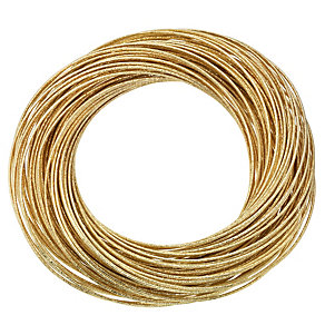 Gold Coloured Multi Wire Bracelet - Product number 8747806