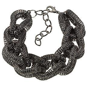 Gunmetal Twisted Mesh Bracelet - Product number 8747911