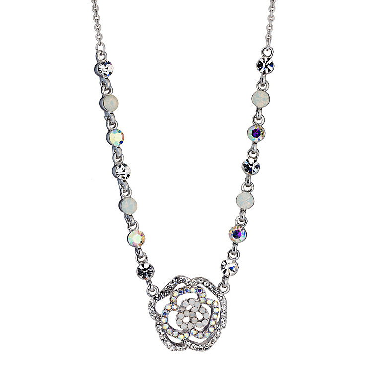 Opal Effect Flower Pendant - Product number 8748128