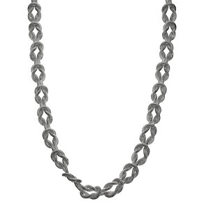 Silver Coloured Mesh Interlocking Chain - Product number 8748241