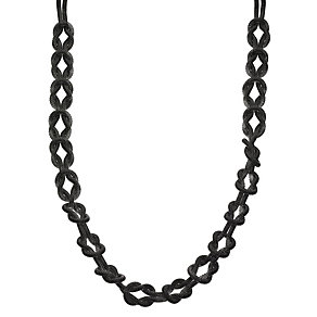 Gunmetal Mesh Interlocking Chain - Product number 8748276