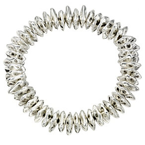 Chunky Silver Coloured Bracelet - Product number 8748381