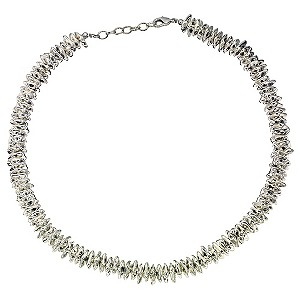 Chunky Silver Coloured Necklace
