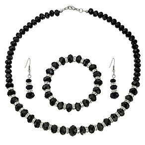 Black Crystal 3 Piece Set - Product number 8748438