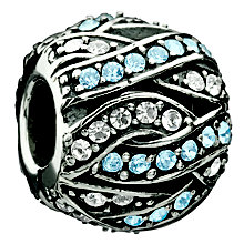 Chamilia - Entwined Jewels blue and clear Swarovski crystals - Product number 8785627