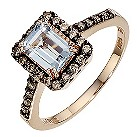 LeVian 14CT Strawberry Gold Quarter Carat Diamond Ring - Product number 8788294