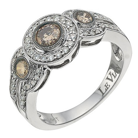 LeVian 14CT Gold Sixty Point White