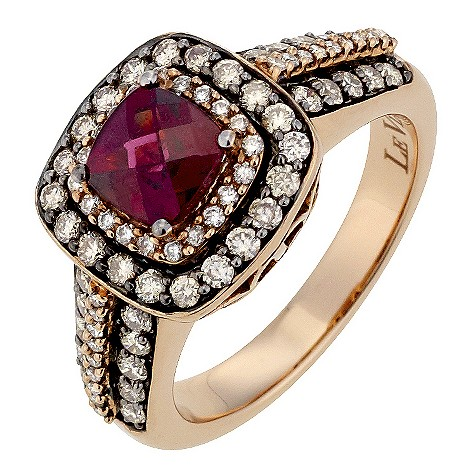 LeVian 14CT Strawberry Gold 0.75CT Diamond