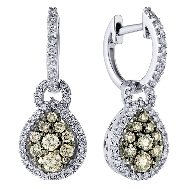 Le Vian 14CT Gold One Carat Chocolate Diamond Earrings - Product number 8790000