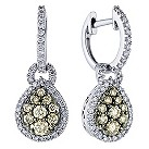 LeVian 14CT Gold One Carat Chocolate Diamond Earrings - Product number 8790000