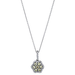 Le Vian 14CT Gold Sixty Point Chocolate Diamond Pendant - Product number 8790019