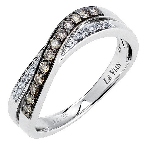 LeVian 14CT Gold Quarter Carat Chocolate Diamond Ring