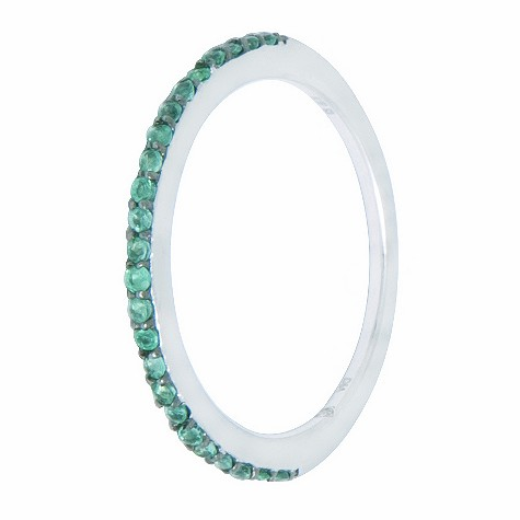Amanda Wakeley tsavorite and diamond ring
