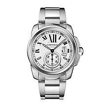 Cartier Calibre de Cartier men's steel bracelet watch - Product number 8807825