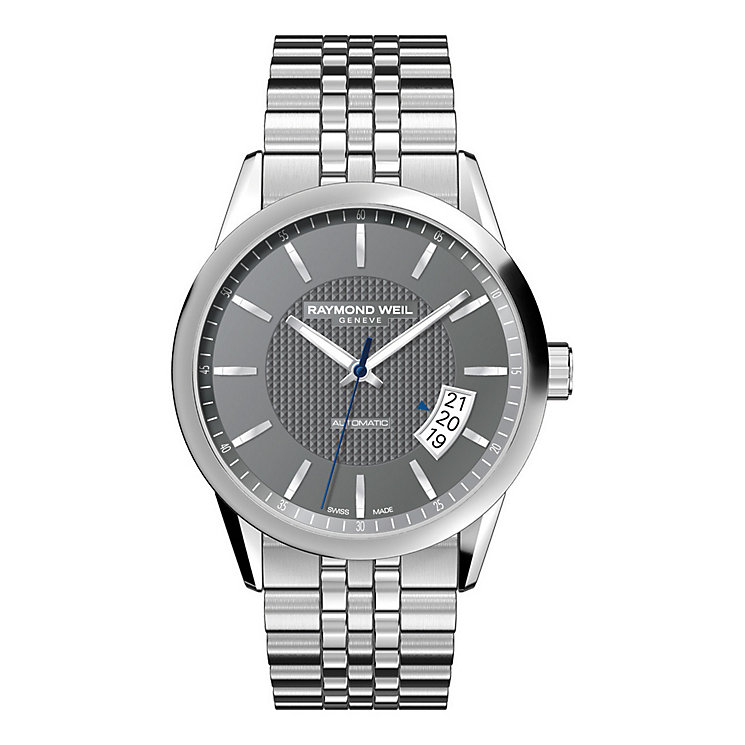 Raymond Weil Freelancer men's stainless steel bracelet watch - Product number 8807965