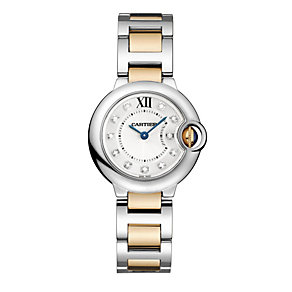 Cartier Ballon Bleu ladies' two colour bracelet watch - Product number 8808104