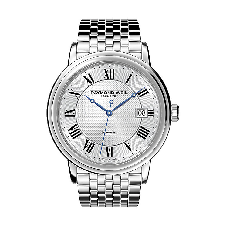 Raymond Weil men's stainless steel bracelet watch - Product number 8808236