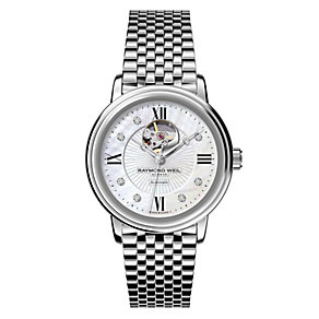 Raymond Weil ladies' stainless steel bracelet watch - Product number 8808252