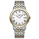 Raymond Weil Tradition men's two colour bracelet watch - Product number 8808287