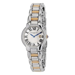Raymond Weil ladies' diamond two colour bracelet watch - Product number 8808333