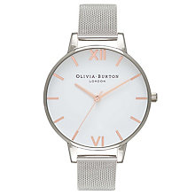 Olivia Burton Big Dial Ladies' Stainless Steel Mesh Watch - Product number 8817057