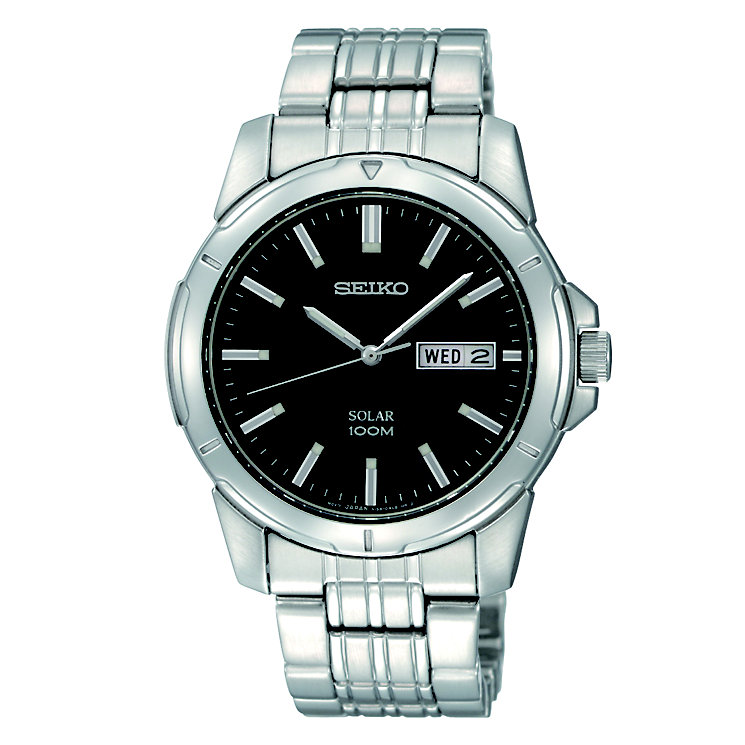 Seiko men's stainless steel bracelet watch - Product number 8819688